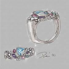design a mothers ring ruby diamond ring by paul richter richter s jewelry design
