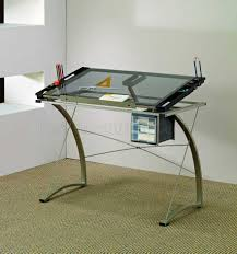 Glass Desks For Home Office by Modern Home Office Glass Desk Best Computer For Ideas Furniture