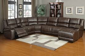 sectional sofas leather sectional sleeper sofa with recliners for
