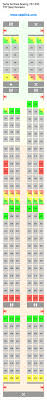 A330 300 Seat Map Delta Airlines Boeing 757 300 75y Seating Chart Updated February