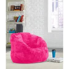 cocoon faux fur bean bag chair multiple colors walmart com
