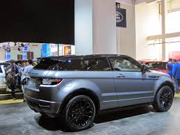 chrome range rover range rover evoque special edition with victoria beckham at auto