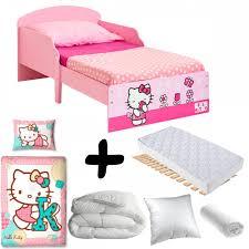 luxe kitty tulip inclusive wooden junior bed mattress