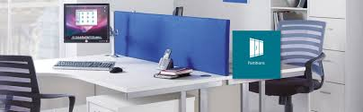 Office Table With Partition Commercial Office Partition Installation Elm Workspace
