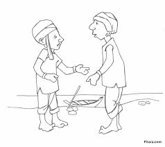 indian village people coloring pages pitara kids network