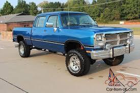 1985 dodge ram truck dodge w350 crew cab bed 4x4 1993 5 9 cummins drivetrain