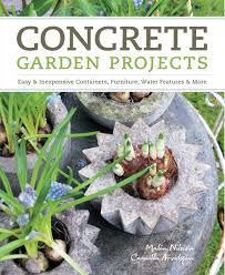 Concrete Garden Furniture Molds by Concrete Garden Projects Easy U0026 Inexpensive Containers Furniture