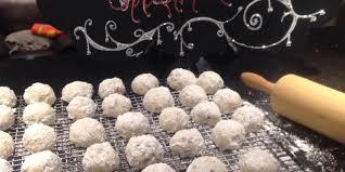 christmas snowball cookies recipe genius kitchen
