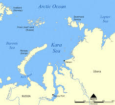 Map Of Russia And China by Kara Sea Wikipedia