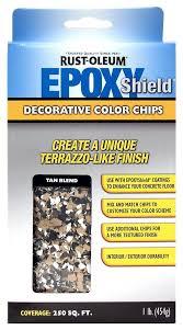 amazon com rust oleum 238470 epoxyshield decorative color chips