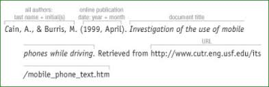 awesome collection of apa format citation from websites with no