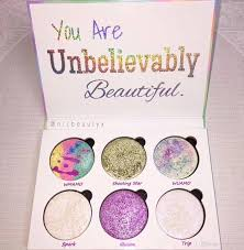 2017 love luxe beauty fantasy palette makeup you are unbelievably