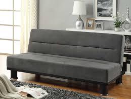 Click Clack Sleeper Sofa Homelegance Callie Click Clack Sofa Bed Graphite Grey