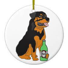 rottweiler ornaments keepsake ornaments zazzle