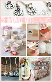 25 handmade gifts 5 dollars gift craft and