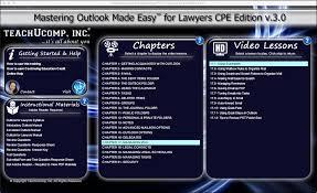 buy outlook 2016 training for lawyers teachucomp inc