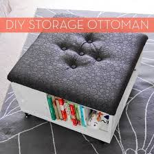 make it diy storage ottoman with wheels curbly