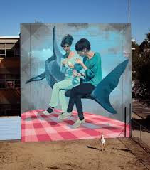 martin ron for wall to wall festival in benalla australia urbanite argentinian artist martin ron is currently in australia where he just finished this new mural for the wall to wall festival in benalla
