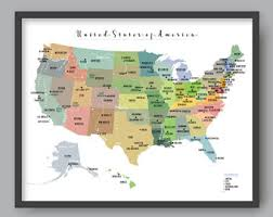 us map printable us map etsy