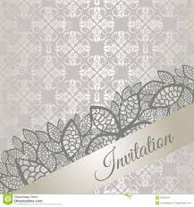 Special Invitation Card Silver Special Occasion Invitation Card Royalty Free Stock Images