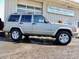 2000 green jeep cherokee 2000 jeep cherokee limited edition shoreline auto sales