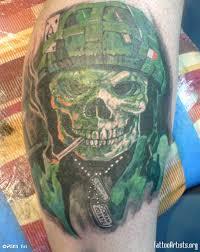 army tattoos army skull artists org tattoos