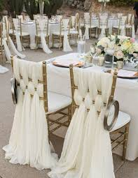 chair sash ideas 53 cool wedding chair decor ideas with fabric and ribbon