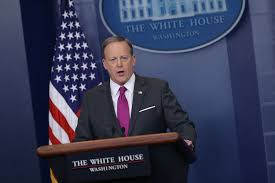 Hanging Flag Upside Down Sean Spicer Wore His Flag Pin Upside Down And People Freaked Time
