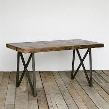 furniture coffee table reclaimed wood sofa table pottery barn