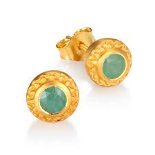 emerald earrings inner radiance emerald earrings satya jewelry