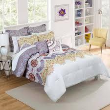 Purple Full Size Comforter Set Bedroom Purple Comforter White Comforter Set Boys Comforter Sets