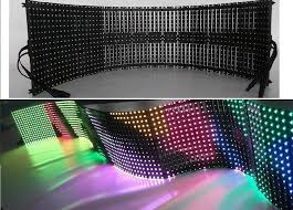 Curtain Led Display Newest Arrival Soft Led Display Flexible Led Curtain Display Zeus