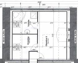plan dressing chambre chambre parentale avec salle de bain et dressing maison