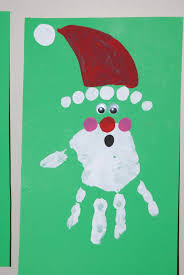 hand print kids christmas card daycare crafts pinterest hand