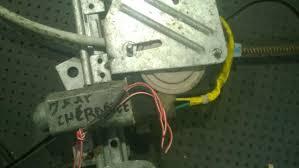 jeep cherokee green 2000 55184962 c50598 ay0621007001 duru lango pakelejo varikliukas g d