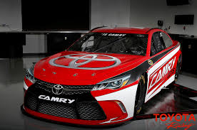 modified toyota camry 2015 toyota camry nascar revealed with road car looks