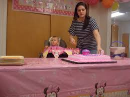 minnie mouse first birthday party savannah turned one year old