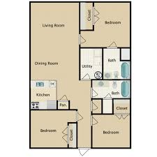 3 bedroom 2 bathroom stoneridge pointe apartments for rent in sanford fl