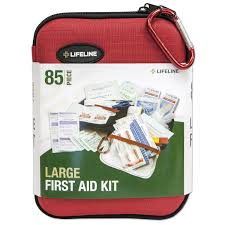 amazon com lifeline 85 piece large hard shell first aid kit