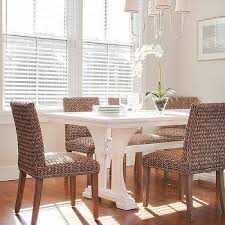 rattan kitchen furniture white wicker dining chairs design ideas