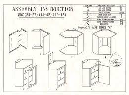 kitchen cabinet assembly assembly instructions kitchen cabinets lv