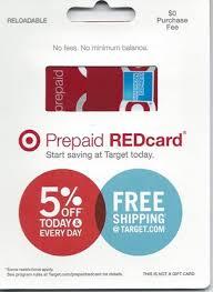 no fee prepaid cards redbird the target prepaid redcard