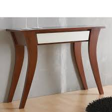 consolas muebles mueble consola recibidor y con 1 cajón en madera maciza