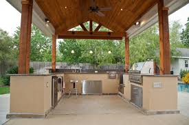 patio kitchen islands outdoor kitchen and patio cover in katy tx traditional patio patio