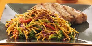 noodle salad recipes crunchy thai noodle salad recipes food network canada
