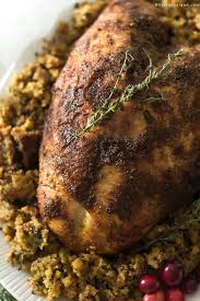 cooker cajun turkey breast with maple glaze