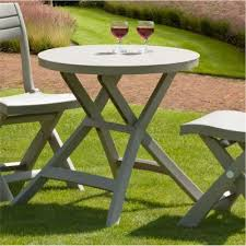Tesco Bistro Table Buy Allibert Oregon Cappuccino Folding Bistro Table From Our