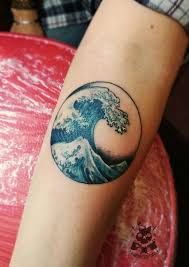 best 25 wave tattoos ideas on pinterest small wave tattoo