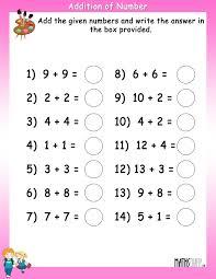 gorgeous math addition facts 2nd grade class 2 maths time