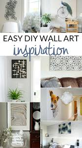 arts and crafts ideas for home decor simple art projects you can make this weekend the crazy craft lady